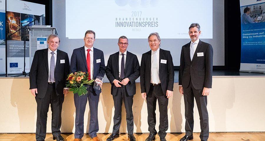 Innovation Award Brandenburg 2017 for SCIP - digital communication in companies and digital shop floor management - © medienlabor - Adam Sevens