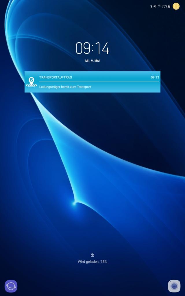 Indoor-Lokalisierungssystem SINTRA Update – Design-Anpassung Notification