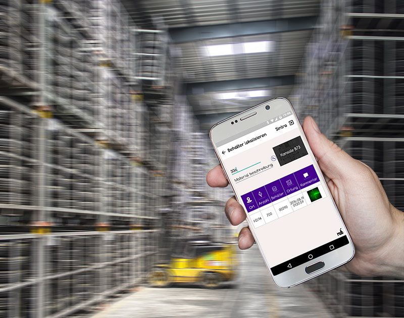 Güter lokalisieren mit SINTRA: unsere Lösung zur Indoor-Lokalisierung